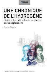 Dernières parutions sur Chimie industrielle, Une chronique de l'hydrogène