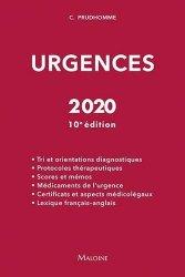 Souvent acheté avec Références en médecine générale pour le deuxième cycle. 25 items, le Urgences 2020