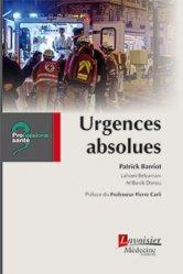 Dernières parutions dans Professions santé, Urgences absolues