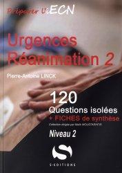 Dernières parutions dans 120 questions isolées, Urgences Réanimation - Tome 2 Niveau 2
