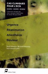 Souvent acheté avec Lecture critique d'articles, le Urgences - Réanimation - Anesthésie - Douleur