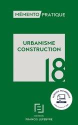 Dernières parutions sur Législation, Urbanisme Construction  2018