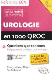 Souvent acheté avec Toute la cardiologie en 1000 QROC, le Urologie en 1000 QROC