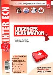 Souvent acheté avec Santé publique, le Urgences Réaniamtion