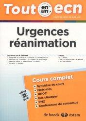 Dernières parutions dans Tout en un ECN, Urgences réanimation