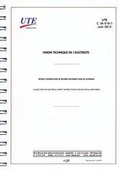 Dernières parutions sur Recueils de normes de l'industrie, UTE C 18-510-1