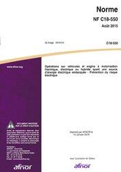 Dernières parutions sur Electricité, UTE C 18-550