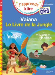 Souvent acheté avec Peter Pan/Ratatouille - Spécial dyslexie, le Vaiana/Le livre de la jungle - Spécial dyslexie