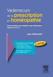 Souvent acheté avec Allergologie, le Vademecum de la prescription en homéopathie