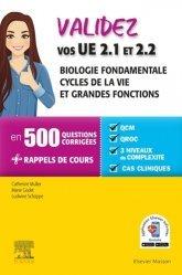 Dernières parutions sur Infirmières, Validez vos UE 2.1 et 2.2