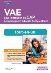 Dernières parutions dans Itinéraires pro, VAE pour l'obtention du CAP Accompagnement éducatif Petite enfance