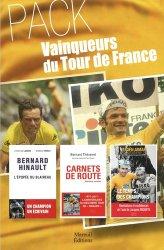 Dernières parutions sur Cyclisme et VTT, Vainqueurs du tour de France. Coffret en 3 volumes : Le temps des champions, mémoires ; Carnets de route, mémoires cyclistes ; Bernard Hinault, l'épopée du blaireau