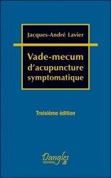 Dernières parutions sur Acupuncture - Médecine chinoise, Vade-mecum d'acupuncture symptomatique
