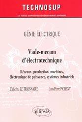Souvent acheté avec Voyages en France, le Vade-mecum d'électrotechnique
