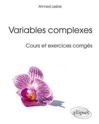 Souvent acheté avec Analyse complexe, le Variables complexes