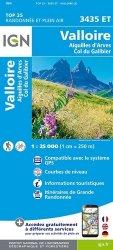 Dernières parutions sur Rhône-Alpes, Valloire : Aiguilles d'Arves, Col du Galibier. 1/25 000, 5e édition