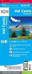 Dernières parutions sur Rhône-Alpes, Val Cenis Charbonnel. 1/25 000