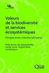 Dernières parutions dans Update, Valeurs de la biodiversité et services écosystémiques
