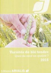 Nouvelle édition Variétés de blé tendre