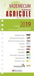 Nouvelle édition Vademecum de l'entreprise agricole
