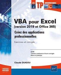 Dernières parutions dans Les TP informatiques, VBA pour Excel (version 2019 et Office 365)