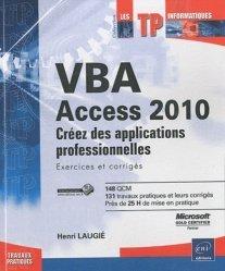 Dernières parutions dans Les TP informatiques, VBA Access 2010
