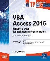 Dernières parutions sur Systèmes de gestion, VBA Access 2016