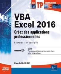 Dernières parutions dans Les TP informatiques, VBA Excel 2016