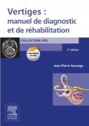 Souvent acheté avec Anatomie Tome 3 ORL, le Vertiges: manuel de diagnostic et de réhabilitation