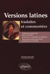 Dernières parutions sur Auto apprentissage, Versions latines traduites et commentées