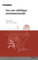 Dernières parutions dans Indisciplines, Vers une esthétique environnementale