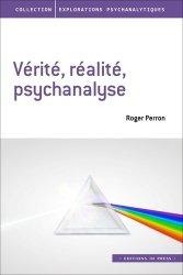 Dernières parutions dans Explorations psychanalytiques, Vérité, réalité, psychanalyse