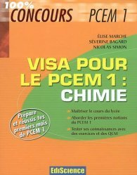 Souvent acheté avec Fiches de révisions en chimie générale, le Visa pour le PCEM 1 : Chimie