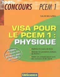 Souvent acheté avec Fiches de révisions en chimie générale, le Visa pour le PCEM 1 : Physique