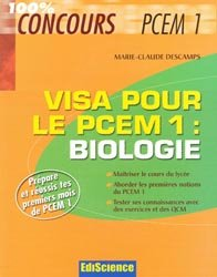 Souvent acheté avec Fiches de révisions en chimie générale, le Visa pour le PCEM 1 : Biologie