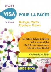 Dernières parutions dans PACES, Visa pour la PACES