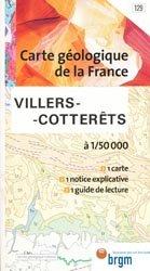 Dernières parutions dans Carte géologique de la France à 1/50 000, Villers-Cotterêts - 1/50 000