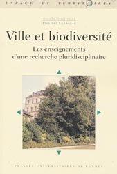 Dernières parutions dans Espaces et Territoires, Ville et biodiversité