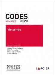 Dernières parutions sur Droit des personnes, Vie privée. Edition 2020