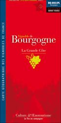 Dernières parutions dans Carte pliée, Vignoble de Bourgogne - La Grande Côte