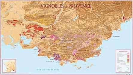 Dernières parutions sur Cartes, Vignoble de Provence