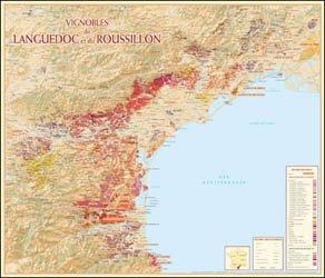 Dernières parutions sur Cartes, Vignoble Languedoc-Roussillon