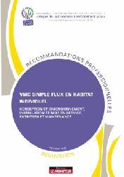 Souvent acheté avec Ouvrages en plaques de plâtre avec ou sans isolation, le VMC simple flux en habitat individuel - Rénovation