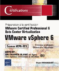 Dernières parutions dans Certifications, Vmware vsphere 6 - preparation a la certification vmware certified professional 6