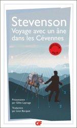 Dernières parutions dans GF, Voyage avec un âne dans les Cévennes
