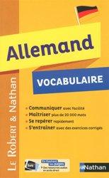 Nouvelle édition Vocabulaire Allemand
