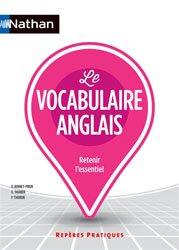 Dernières parutions dans Repères pratiques, Le vocabulaire anglais