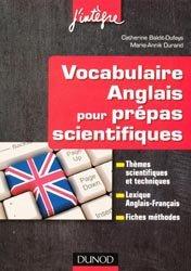 Souvent acheté avec Zéro pesticide dans mon jardin, le Vocabulaire anglais pour les prépas scientifiques