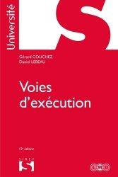 Dernières parutions dans Sirey Université, Voies d'exécution. Edition 2017