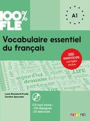 Dernières parutions dans 100% FLE, Vocabulaire Essentiel du Français Niv. A1 2018 - Livre + CD